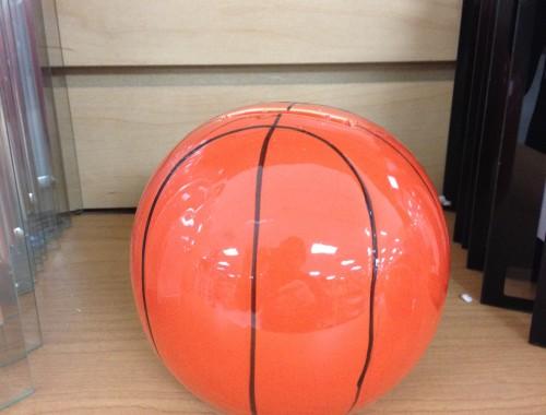 Ceramic baseketball bank