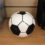Ceramic soccer bank