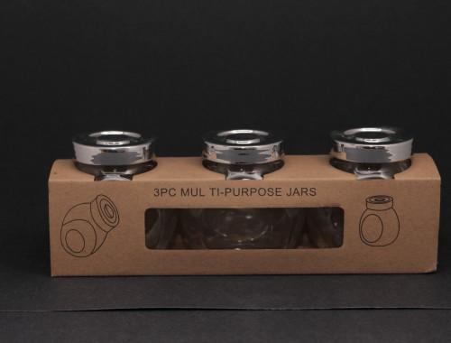 3pc spice jars