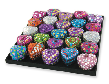 Bogart Heart-Shaped Trinket Boxes