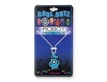 Cool Botz Robot Necklace